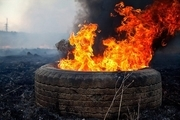 باغداران از آتش زدن لاستیک خودداری کنند