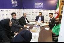 میزگرد « توسعه ورزش قهرمانی » در ایرنا سمنان برگزار شد