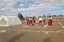 اردوگاه 2 هزار نفری هلال احمر در پایانه برکت احداث می شود