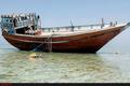 پیداشدن یکی از قایق های مفقودی در شهرستان کنگان با 3 سرنشین