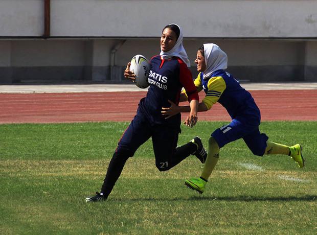 اردوی تیم ملی راگبی دختران در گرگان پایان یافت