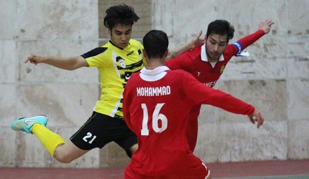 مسابقات فوتسال لیگ برتر گیلان برگزار شد