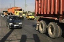 تردد کامیون در برخی جاده های خراسان جنوبی ممنوع شد