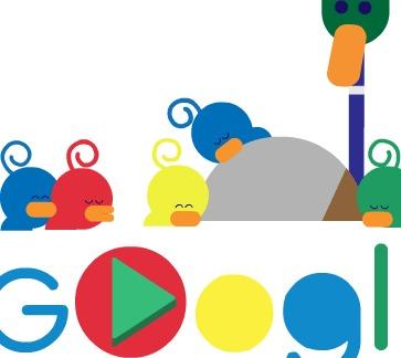 لوگوی گوگل به مناسبت روز جهانی پدر تغییر کرد+ عکس