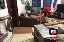 نجات مردی از خودکشی با گاز منوکسید در شهرک اندیشه تبریز توسط آتشنشانان