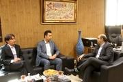 دیدار اعضای شورای اسلامی شهر و شهردار بندر ماهشهر، با مدیر عامل سازمان منطقه ویژه اقتصادی پتروشیمی