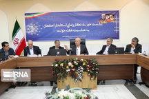 بهره برداری ۱۷۳۴ طرح اصفهان در هفته دولت آغاز شده است