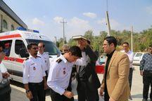 گروه امدادی اورژانس فسا به مرز مهران اعزام شدند