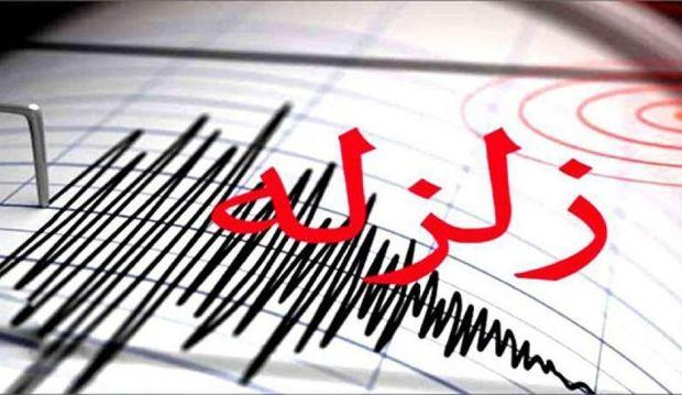زلزله 5.4 ریشتری در هرمزگان