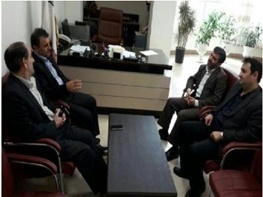 دیدار مدیر کل کمیته امداد استان گیلان با فرماندار صومعه سرا