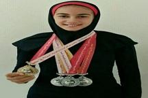 دانش آموز البرزی به مسابقات بین المللی شنا راه یافت