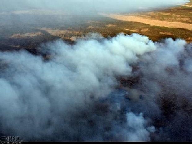 دود هورالعظیم هوای آبادان را آلوده کرد