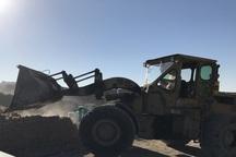 20 هزار مترمربع از اراضی کشاورزی ملارد  آزادسازی شد