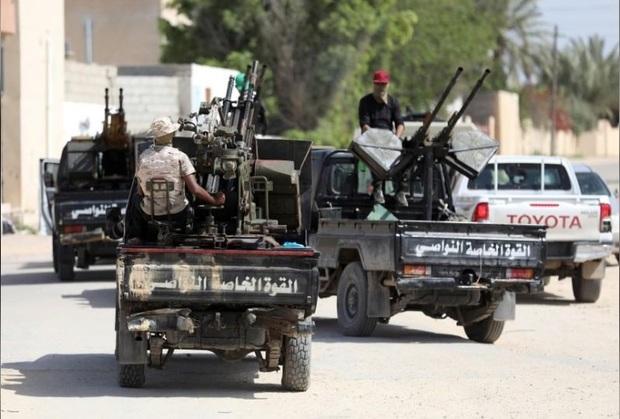 اسارت 190 تن از نیروهای ارتش شرق لیبی توسط نیروهای ارتش غرب لیبی