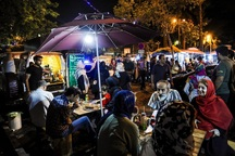 خیابان غذا در بجنورد راه اندازی شد