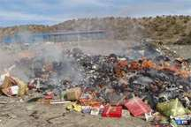 افزون بر 41 هزار کیلوگرم مواد غذایی فاسد در بروجرد معدوم شد