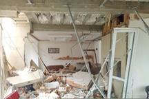 خسارت به ۲۰ خانه بهعلت انفجار آپارتمانی در ارومیه   عکس
