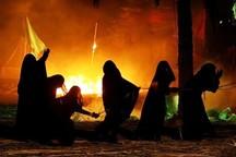 مراسم شام غریبان در اهواز برگزار شد
