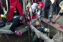 مرگ مرد 40 ساله سنندجی بر اثر سقوط در چاه 22 متری