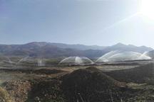 افتتاح 2 طرح کشاورزی شهرستان بن در هفته دولت