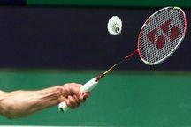 فینالیست های بدمینتون بانوان در رقابت های بین المللی مشخص شدند