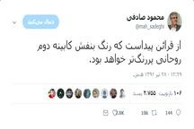 محمود صادقی: رنگ بنفش کابینه دوازدهم پر رنگ تر خواهد بود