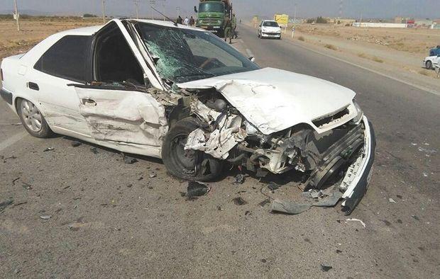 تصادفات جادههای در کردستان جان پنج نفر را گرفت