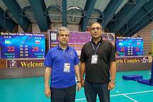 دعوت داوران بینالمللی تبریزی به مسابقات جهانی والیبال نشسته