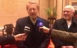 لاریجانی وارد پکن شد/ منافع مشترک باعث تقویت همکاری های چین و ایران شده است