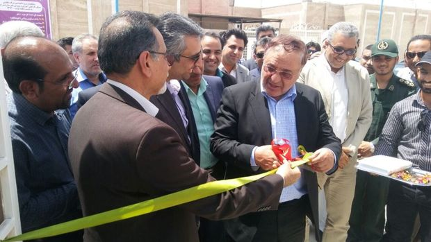 بهره برداری از پنج طرح عمرانی در بندر خمیر با حضور معاون وزارت علوم