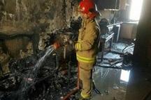 آتش سوزی در خوابگاه دخترانه شادگان 6مصدوم برجا گذاشت