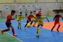 رقابتهای لیگ برتر فوتسال نونهالان یزد آغاز شد