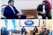 دیدار مدیرعامل خبرگزاری بوسنی با سخنگوی وزارت خارجه
