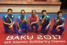 تیم ملی تنیس روی میز ایران، مقام نخست بازی های کشورهای اسلامی را کسب کرد