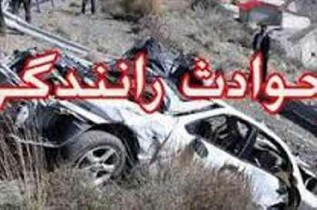 حادثه رانندگی در جاده کامیاران- پالنگان یک کشته برجای گذاشت