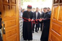 کلیسای گورگیز در روستای ریحان آباد ارومیه بازگشایی شد