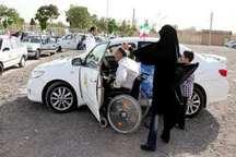 مسابقات رالی ویژه جانبازان و معلولان بافق برگزار شد
