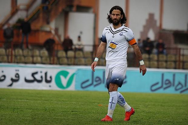 خداحافظی کاپیتان ملوان بندرانزلی از دنیای فوتبال