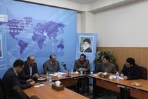 میزگرد ارزیابی آمادگی قزوین در حوزه خدمات سفرهای نوروزی برگزار شد