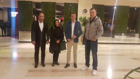 رییس کمیته مسابقات AFC وارد تهران شد+ عکس