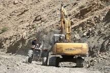 طرح بهسازی جاده آبشار شوی در دزفول آغاز شد