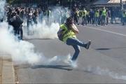 حمله پلیس فرانسه به معترضان جلیقه زرد