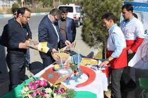 46 پایگاه امدادی همدان به مسافران نوروزی خدمات رسانی می کند