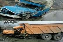 تصادف رانندگی در جاده سنندج- کامیاران یک کشته برجای گذاشت