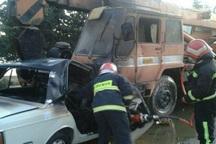 سانحه رانندگی در مهاباد 2 کشته برجا گذاشت