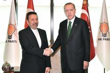 واعظی در دیدار با اردوغان: توسعه روابط و همکاریهای ایران و ترکیه به نفع دو ملت و منطقه است