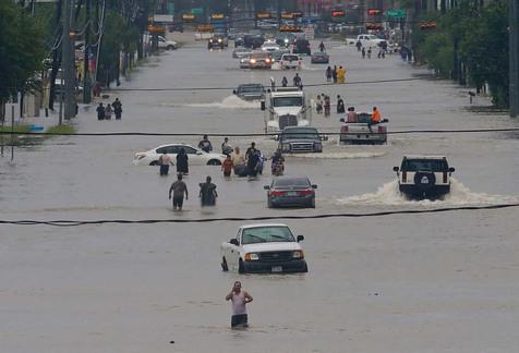 طوفان هاروی در آمریکا/ فیلم