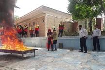 3000 شهروند جنوب تهران از آموزش های آتش نشانی بهره مند شدند