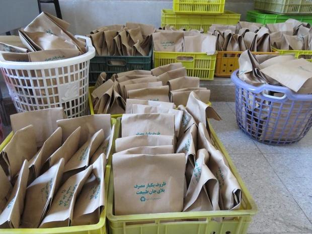 پنج هزار کیسه بازیافت زباله در یزد توزیع شد