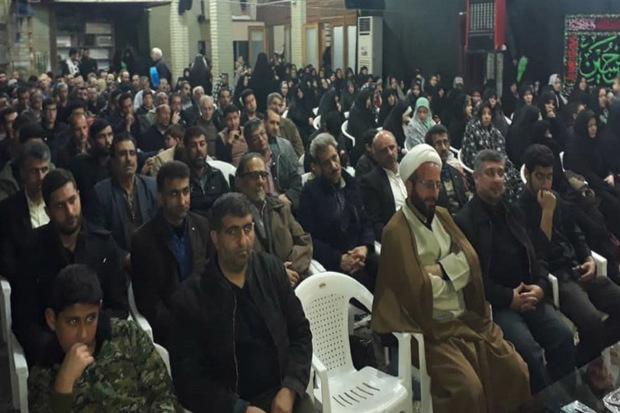 یادواره شهدای محله امامزاده حسین(ع) در قزوین برگزار شد